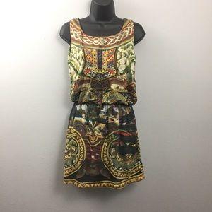 Desigual Dresses - Desigual Sparkly Embroidered Multicolored Dress